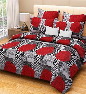 Cotton Bed Sheet & Pillow Cover Set