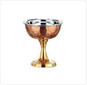 Copper Ice Cream Cup