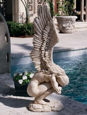 Angel Stone Sculpture