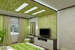 Bedroom Gypsum False Ceiling Services