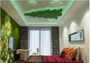 Children Bedroom Gypsum False Ceiling Services