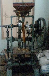 camphor slab machine
