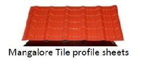 Mangalore Tile Profile Sheets