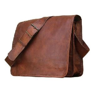Office Leather Side Bags