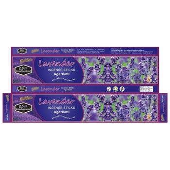 Golden Lavender Incense Sticks