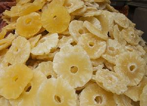 Dried Organic Pineapple Slices