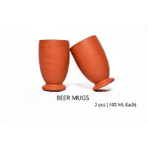 Clay Beer Mugs