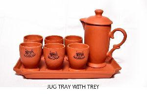 Clay Jug Set