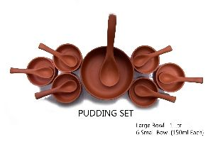 Clay Pudding Set