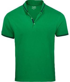 Mens Cotton Polo Neck T-Shirts