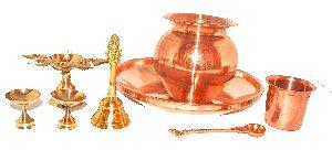Copper Pooja Items