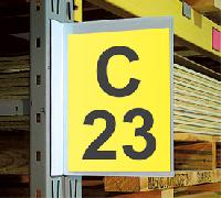 Warehouse Pouch Signs