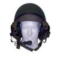 Crewman Vehicle Communication Helmet