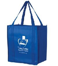 Recession Buster Non-woven Grocery Tote Bag
