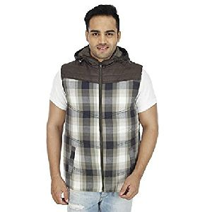 SOC 135 Smart Check Quilted Sleeveless jacket