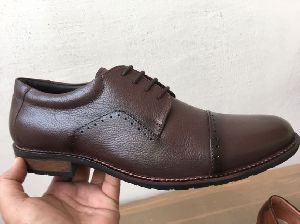 Mens Leather Tpr Sole Shoes