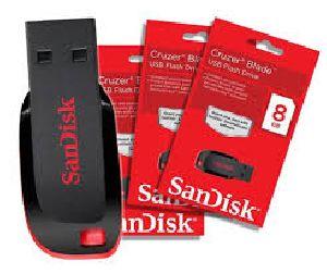 Sandisk 8 Gb Cruzer Blade Usb Pen Drive