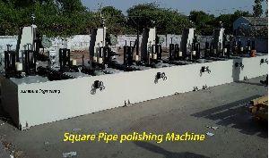 Ss Square Pipe Polishing Machine