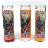 Religious Jar Candle