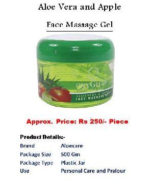 Aloe Vera And App Le Face Massage Gel 500 Gm