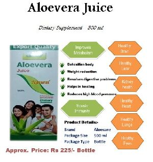 Aloevera Juice Dietary Supplement