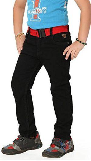 Kids Black Jeans For Boys/girls