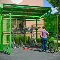 Canopy Style Bike Shelter