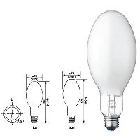 SELF-BALLASTED MERCURY BULB
