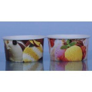 100 Ml Ice Cream Multi Color Paper Cup