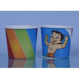 150 Ml Single Coated Multi Color Paper Cup