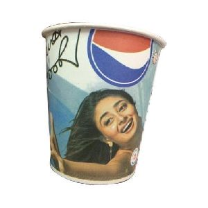210 Ml Single Coated Print Paper Cup