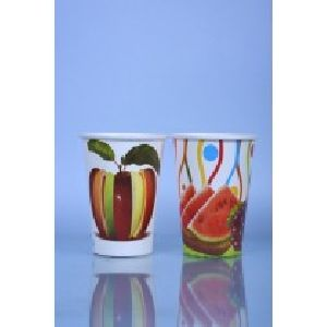 300 Ml Single Coated Multi Color Paper Cup