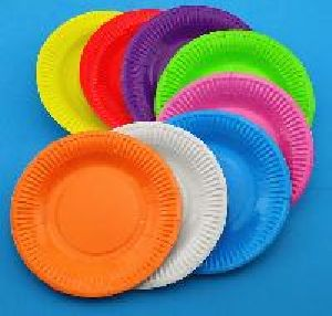 Multi Coloured Paper Plates & Silver Paper Plates Manufacturer in Ahmedabad Gujarat India by ...
