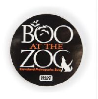 Boo At The Zoo Sticker Material