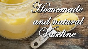 Homemade Natural Vaseline