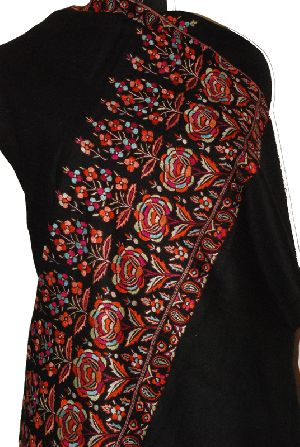 Ladies Embroidered Pashmina Shawls