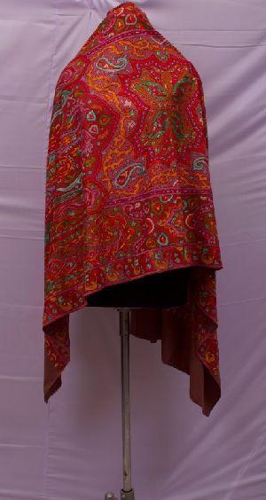 Ladies Maroon Pashmina Shawls