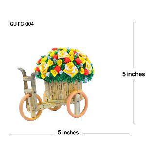 Flower Cart Home Decor Gift Item