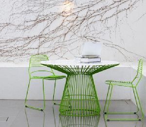 Wire Dining Table Set