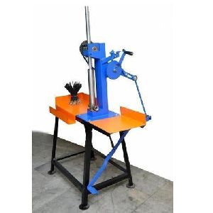 Single Pedal Incense Stick Making Machine