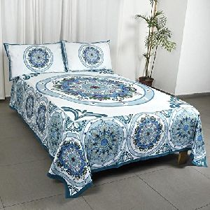 Double 90x108 Inch Pure Cotton Bed Sheets