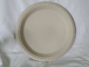 Biodegradable 12 Inch Round Plate