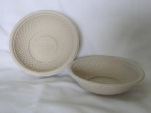 Biodegradable Shallow Round Bowl
