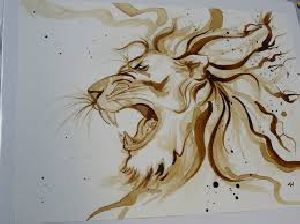 Handmade Coffee Painting Services