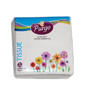 Purgo Ultra Soft Luxury Tissue Paper (30cm X 30cm)