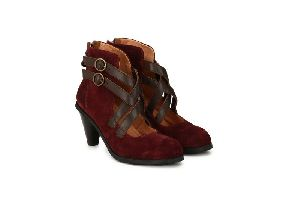 Etppl-1008-17 Womens Leather Ankle Boots
