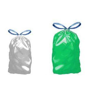 Draw Tape Plastic Garbage Bags