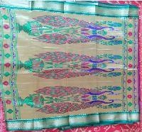 Designer Double Pallu Silk Saree