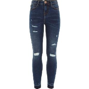 Ladies Rough Jeans