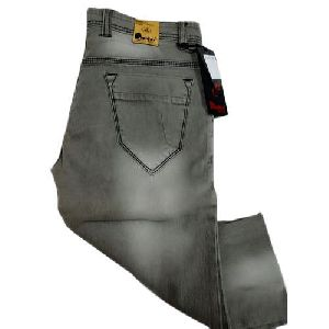 Mens Straight Fit Denim Jeans